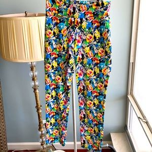 Stretchy colorful pants!